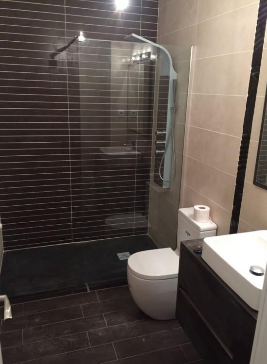 Reformas de baños en Móstoles plato de ducha