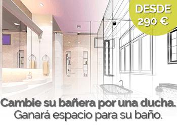 oferta cambiar bañera por ducha