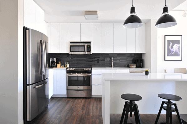 reformar una cocina pequena