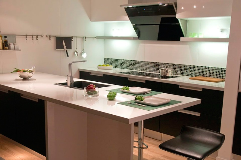 nuevas instalaciones en la cocina eléctrica
